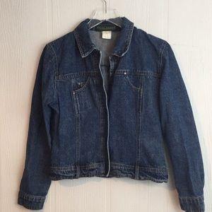 Harve Bernard Jean denim Jacket size small